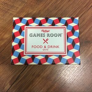 RIDLEY Food and Drink quiz game - adult
